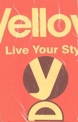 Yellow beterítőkendő
