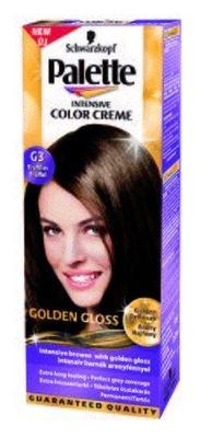 Palette color creme C1 Kékesfekete