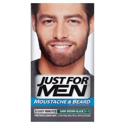 Just for men szakáll színező dark brown black M-45