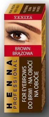 Henna szemöldökfes.por barna