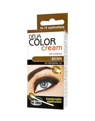 Delia szemöldök és szempilla festék 15ml barna 4.0