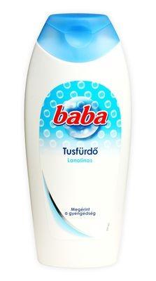 Baba tusfürdő 400ml lanolinos