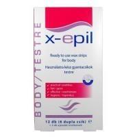X-EPIL hideg gyantacsík nagy