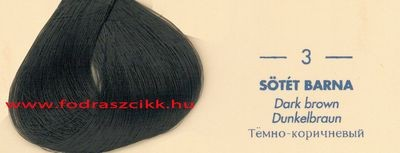 Kallos Color Prestige 3 sötét barna