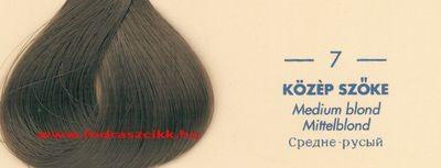 Kallos Color Prestige 7 közép szőke