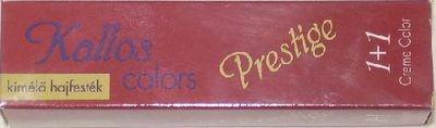 Kallos Color Prestige 8.5 világos mahgóni