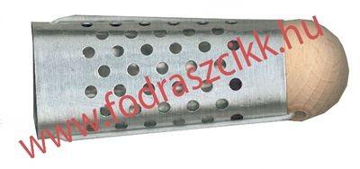 Hajcsavaró fém,golyós 25mm